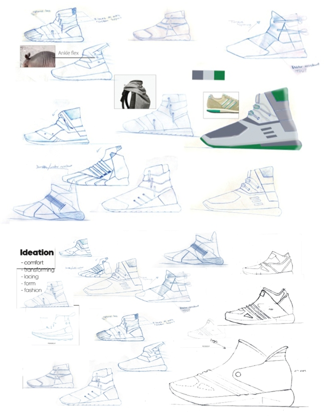 Shoe Sketch Process